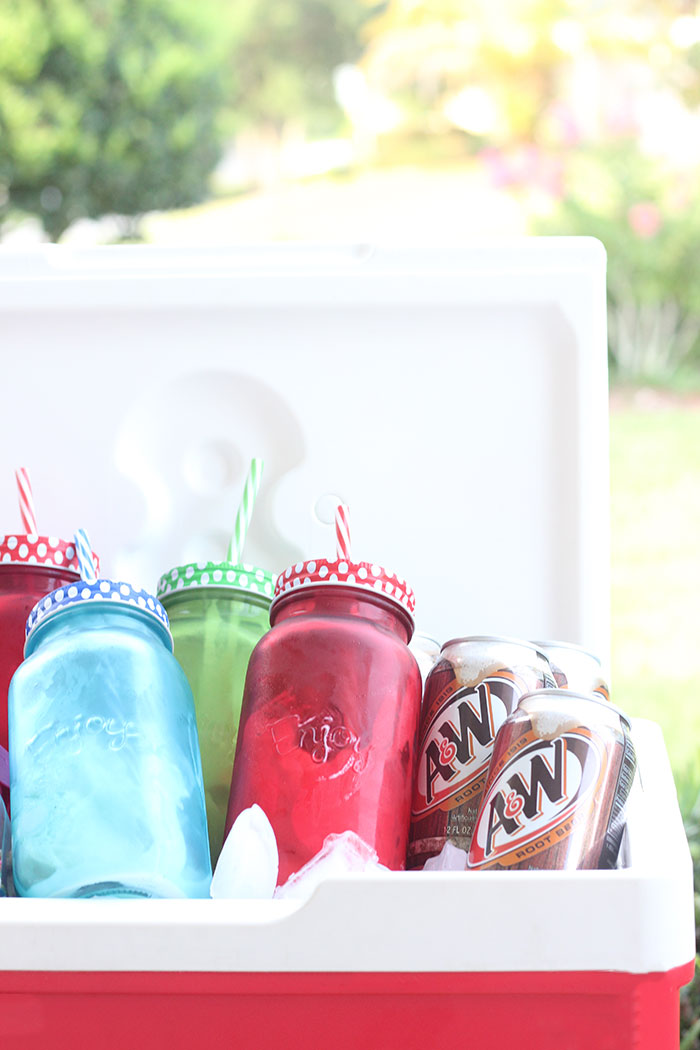 Rootbeer Floats To Go. Party on the beach? Hanging out by the pool? Pack your cooler up with these things to make it a hit.