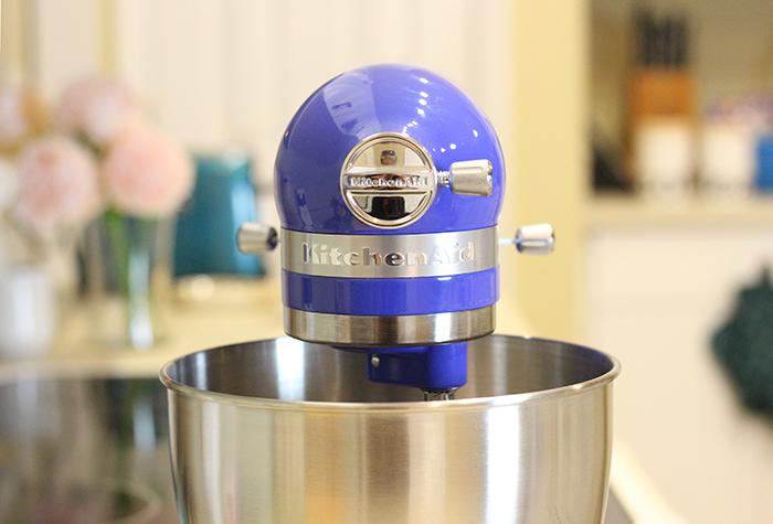 Magical Turquoise Whipped Cream W Kitchenaid Artisan Mini