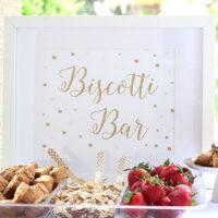 Host a Biscotti Bar for a Tasty Twist