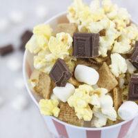 Impromptu Movie Night Ideas & S'mores Popcorn