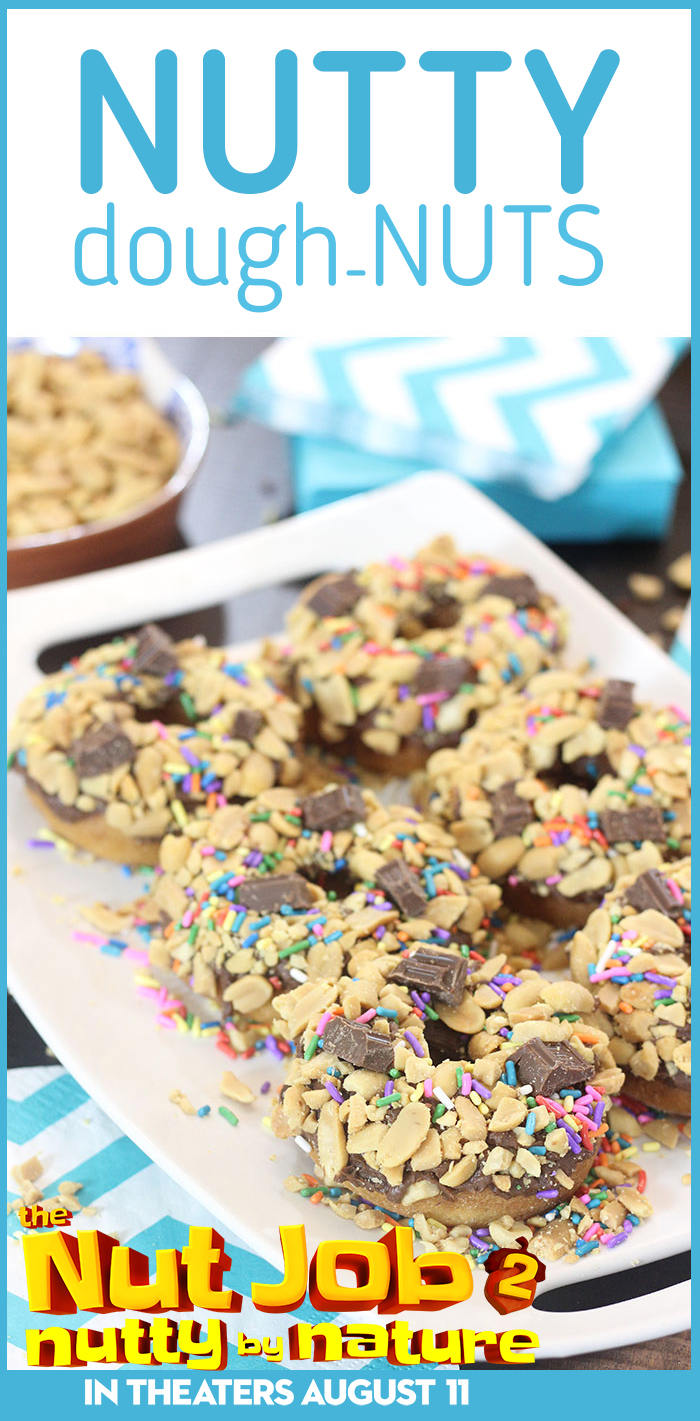 Chocolate Nutty Dough-NUTS to celebrate The Nut Job 2 movie. So yummy and easy.