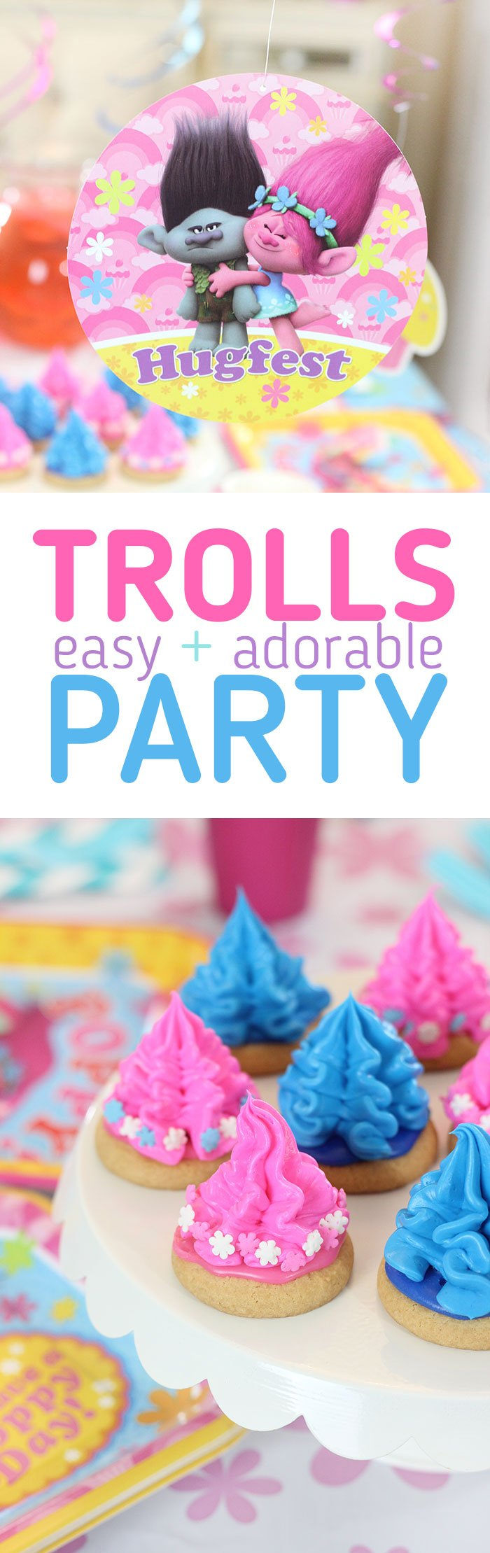 Trolls Party Ideas & Supplies. Throw the most adorable party with little effort with this tips with American Greetings Trolls party supplies available at Target.