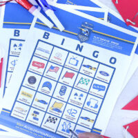 NASCAR Bingo Printable Game and more fun content games.