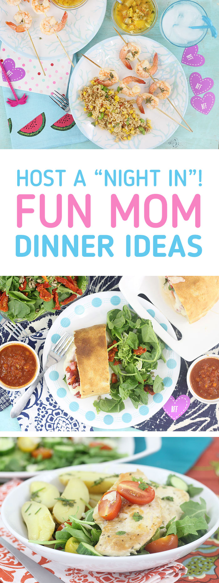 Fun Mom's Night In Dinner Ideas.