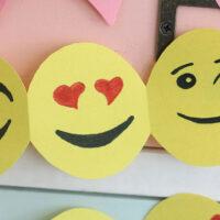 Emoji Paper Garland