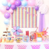 Whimsical DIY Candy Buffet Ideas