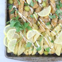 """Fish & Chips Sheet Pan """"Nachos"""""""