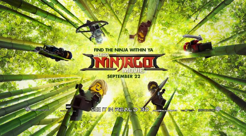Ninjago Movie DIY. Make cute treat bags for parties or halloween. Easy craft to do with kids in celebration of The LEGO Ninjago movie.