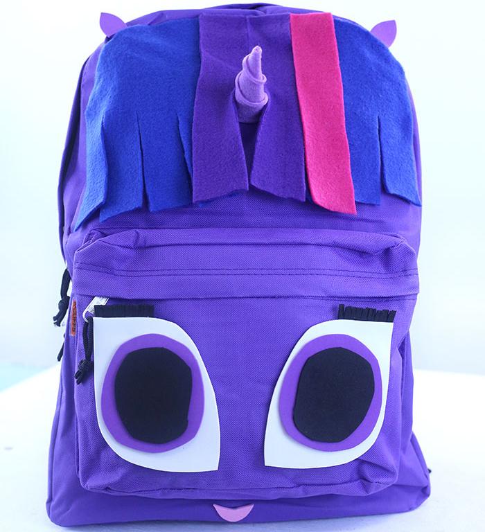 Twilight Sparkle DIY Backpack in Celebration of My Little ... | 700 x 768 jpeg 361kB