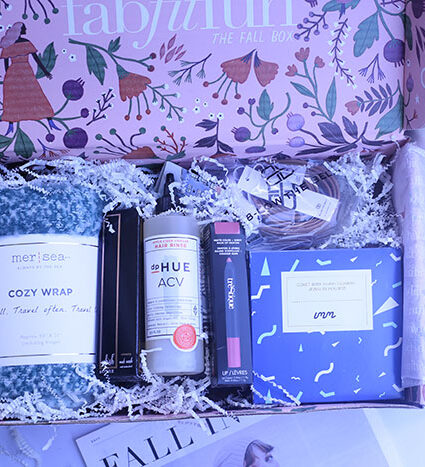 FabFitFun Fall Box Unboxing. HOT products for the perfect season.