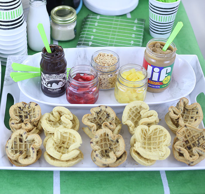 Waffle Bar for Tailgating. Unique Ideas You Need To Try.