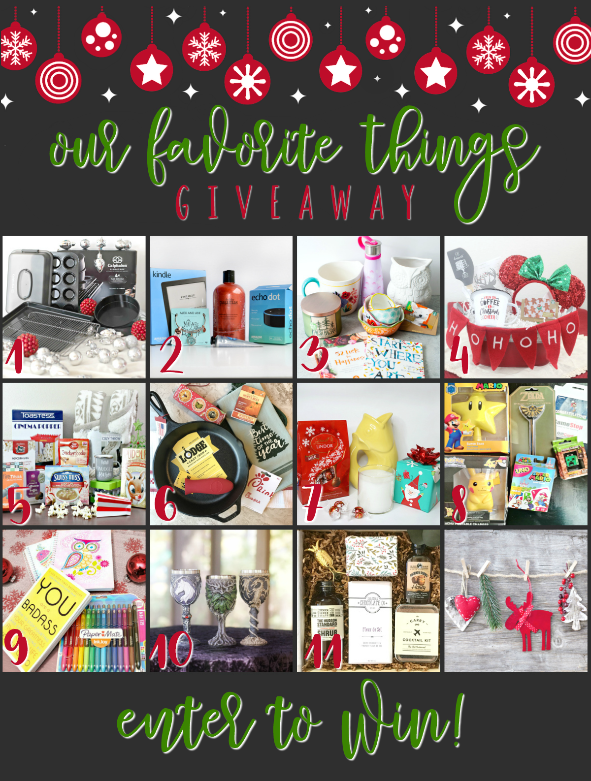#1 Our Favorite Things Giveaway (1)
