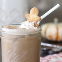 Add Pep To Your Step with Gingerbread Iced Coffee
