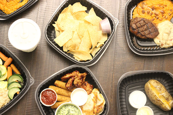 Create a fun night in at home with Applebees Carside to Go.