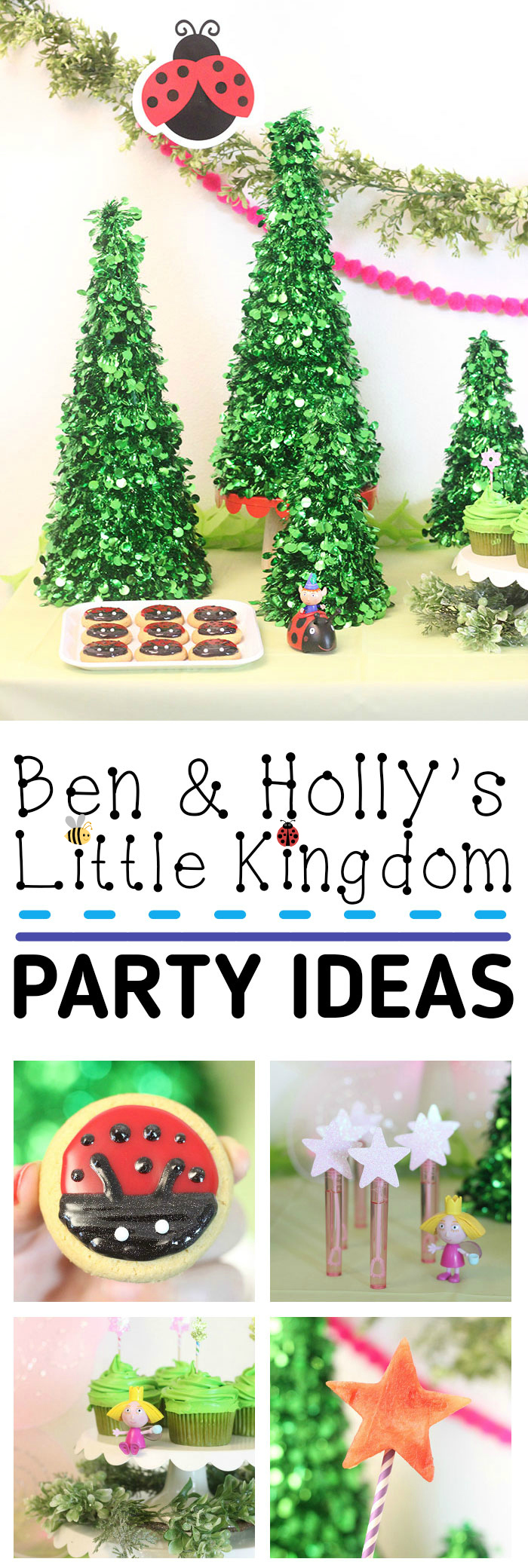 ben hollys little kingdom party ideas - Ben And Holly Christmas