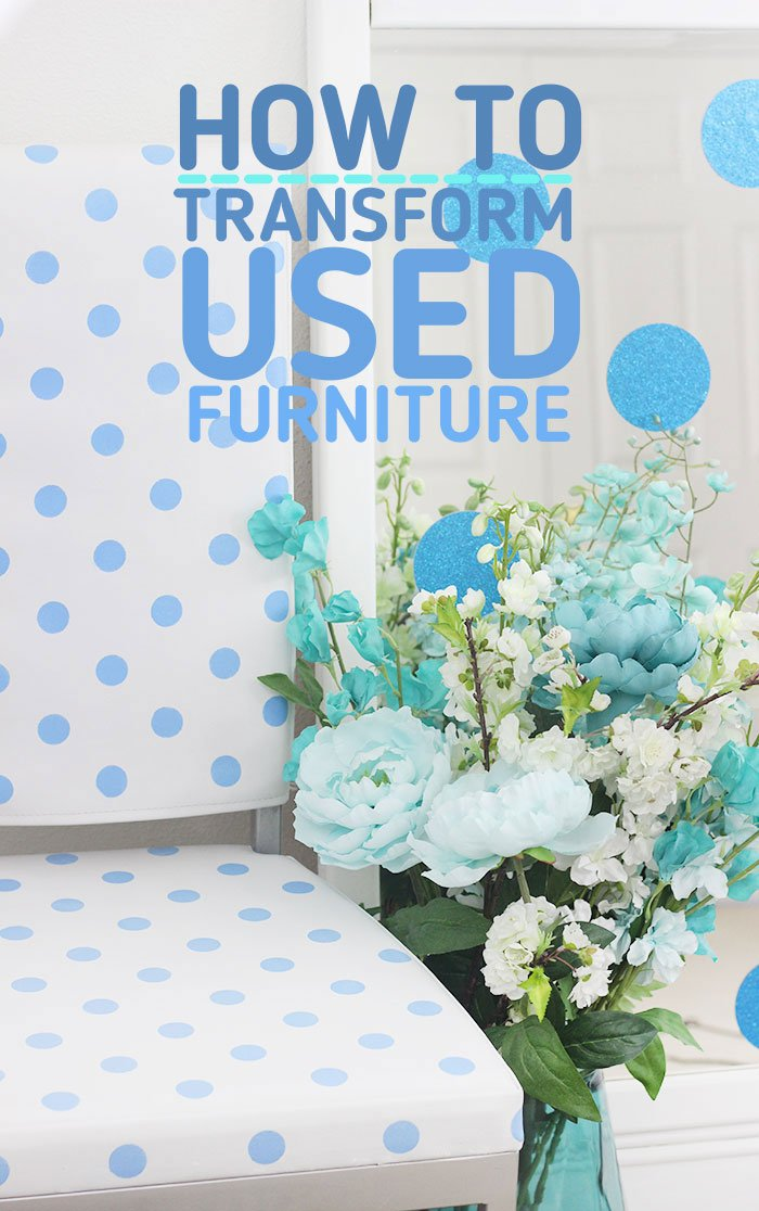 How to transform used furniture into something all new and amazing.