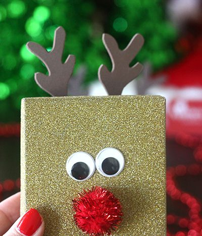 DIY Rudolph Gift Boxes for Gift Cards