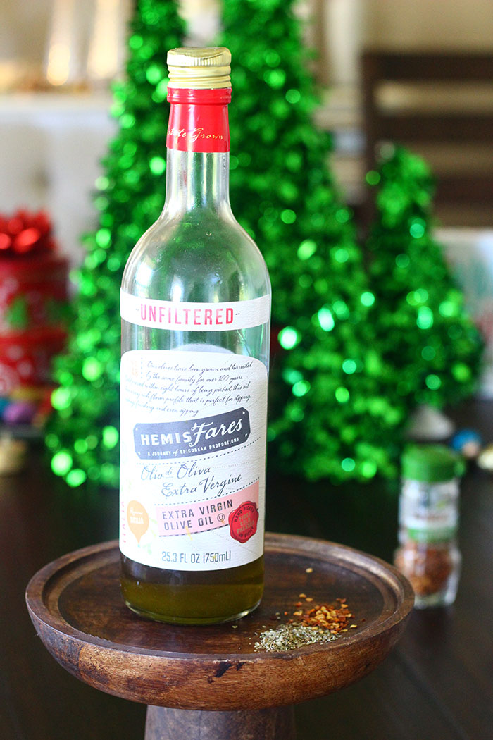 Herbed Olive Oil Gift Idea.
