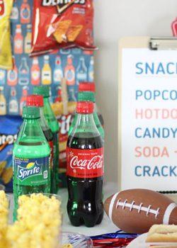 DIY Snack Bar: Easy Football Party Food