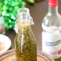 DIY Herbed Olive Oil Gifts