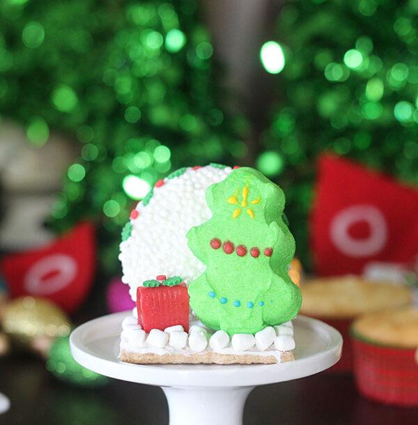 PEEPS Christmas Tree Cupcakes