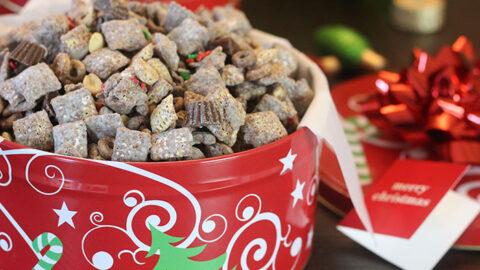 Holiday Yums: Chocolate Peanut Butter Muddy Buddies
