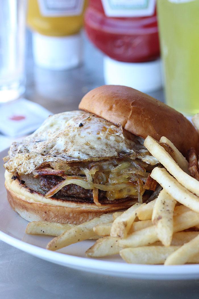 Fantastic new burgers at Applebee's.