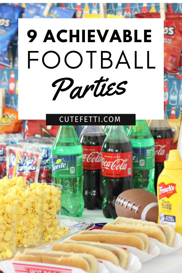 Ridiculously Achievable Football Party Spreads. Score!