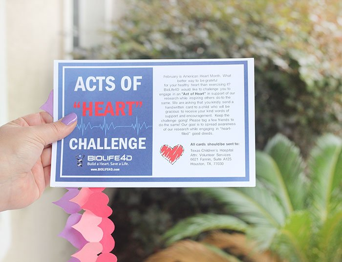 Join the Act of Heart challenge and help a stranger.