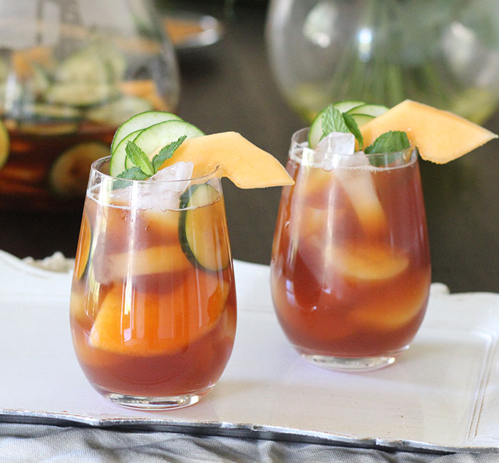 how to make fruit iced tea