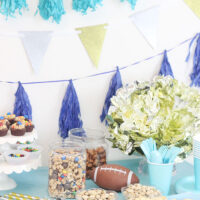 Football party ideas from decorations and food to cleanup.