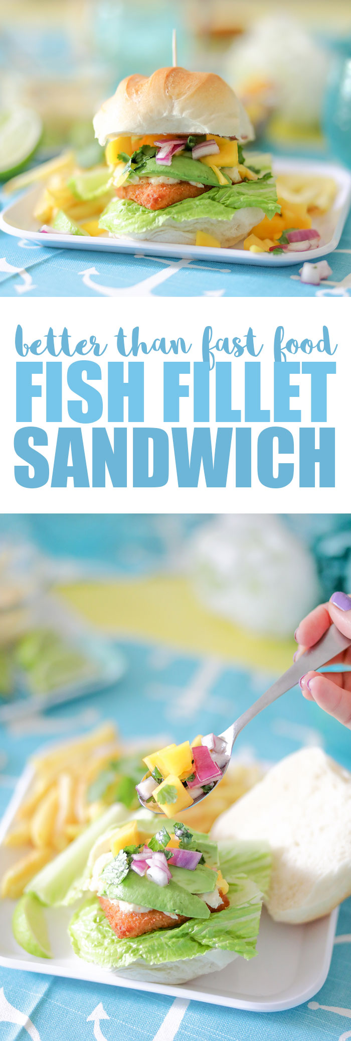 Better than fast food fish sandwich cutefetti for Fish sandwich fast food