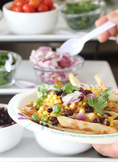 Nacho Bar French Fries with Philips AirFryer