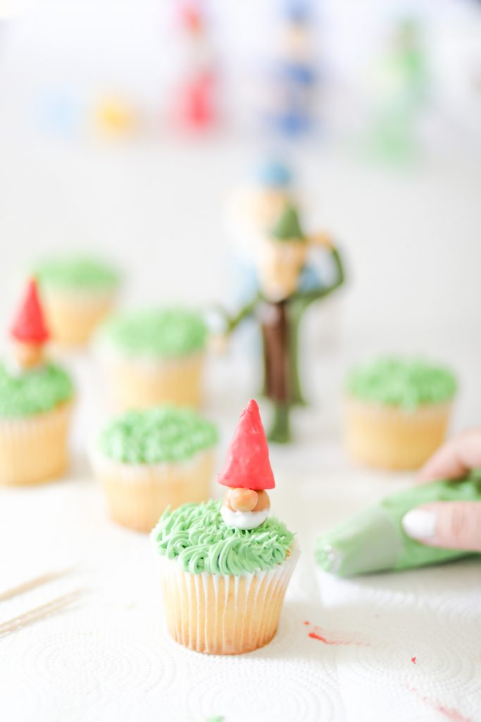 Goons Gnome Cupcakes to Celebrate Sherlock Gnomes