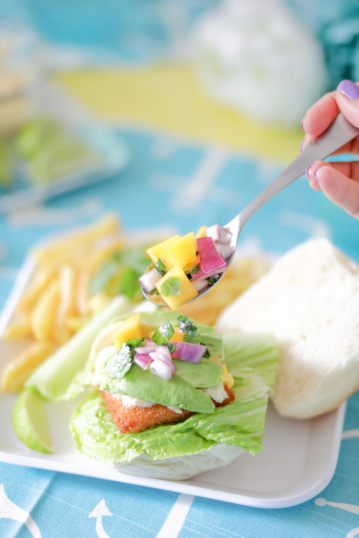 Better than fast food fish sandwich lifestyle blog for Fast food fish