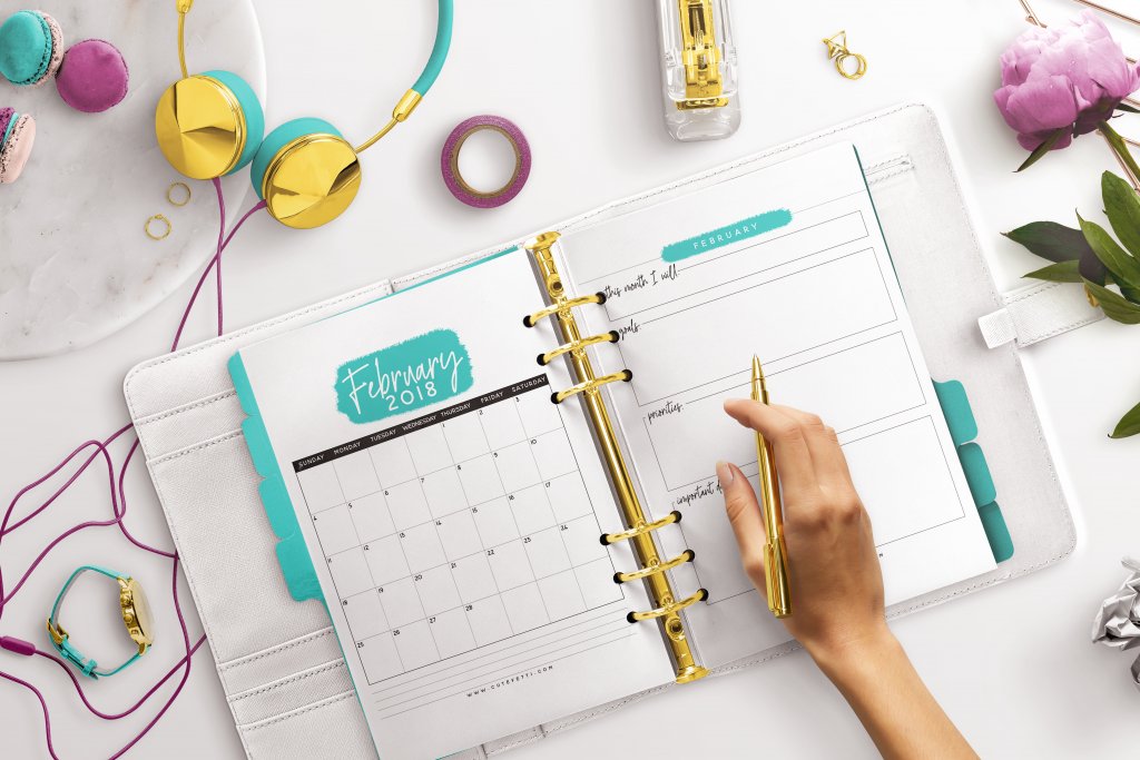Free Printable Planner for 2018