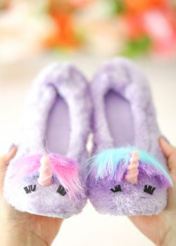 DIY Unicorn Slippers