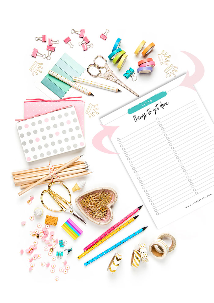 Free Printable List to help you remember... all the things!