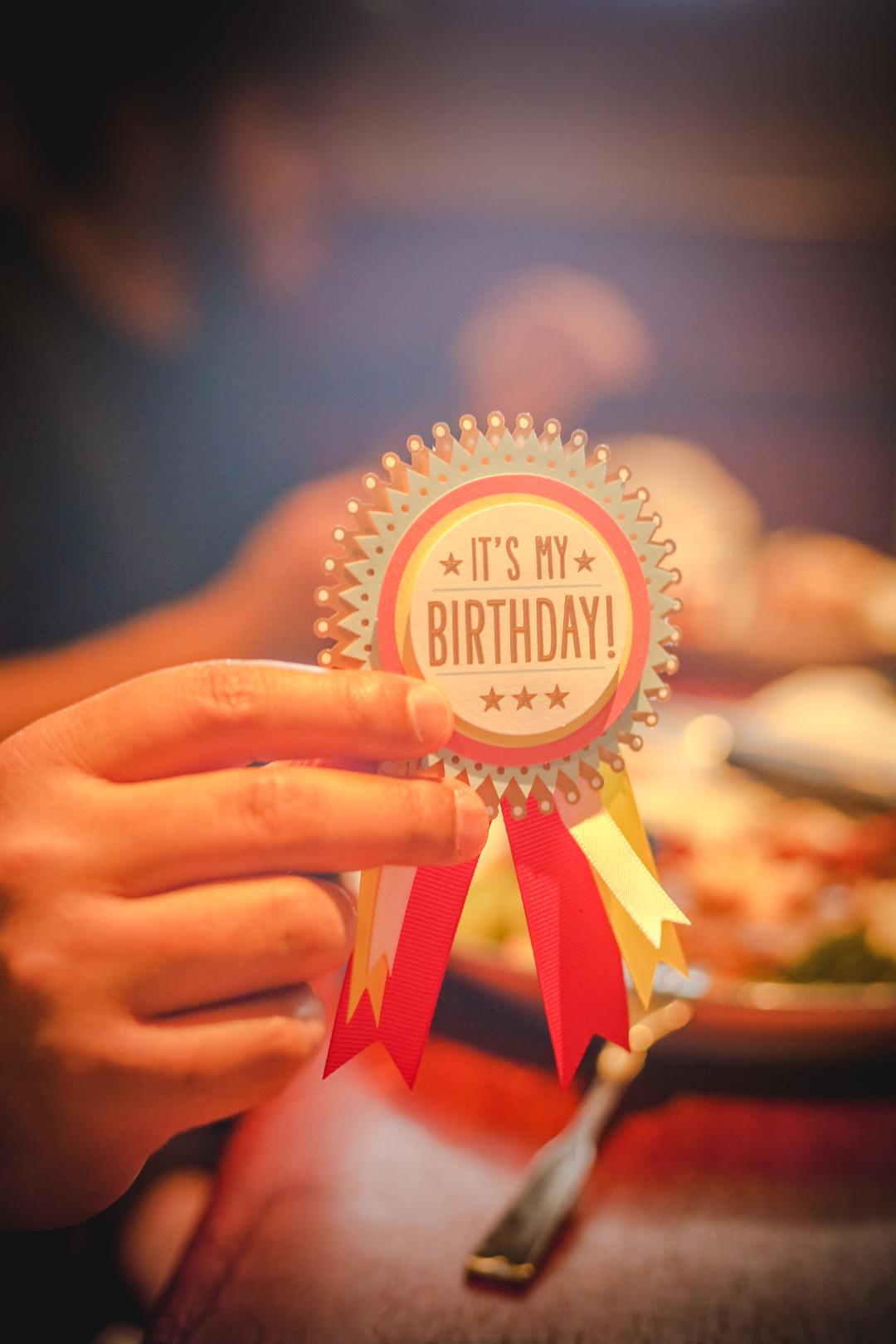 Best way to celebrate a birthday.