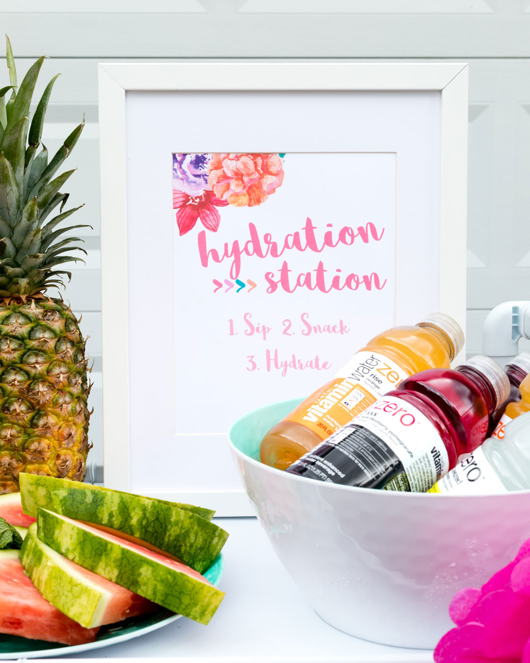 Hydration Ideas for Summer Parties