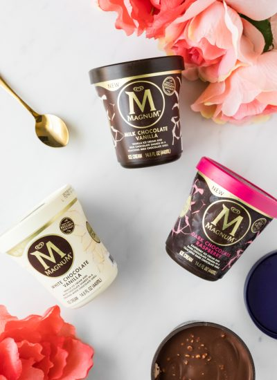 Ice Cream + Chocolate + Magic = Magnum Ice Cream Tubs