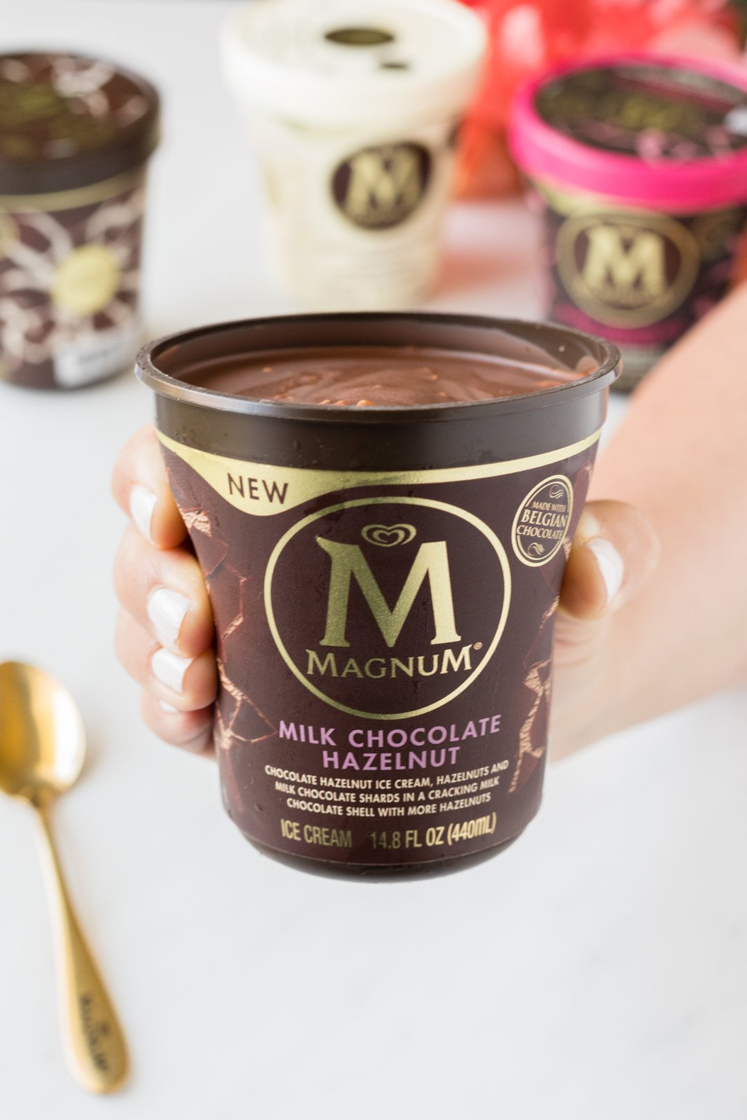 NEW Magnum Ice Cream Tubs at Walmart