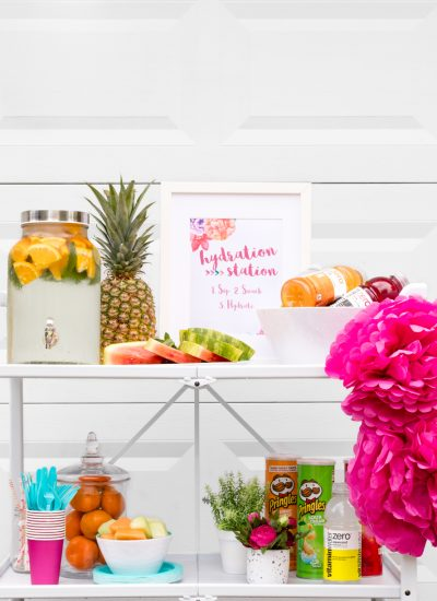 Hydration Station Ideas for Your Summer Party