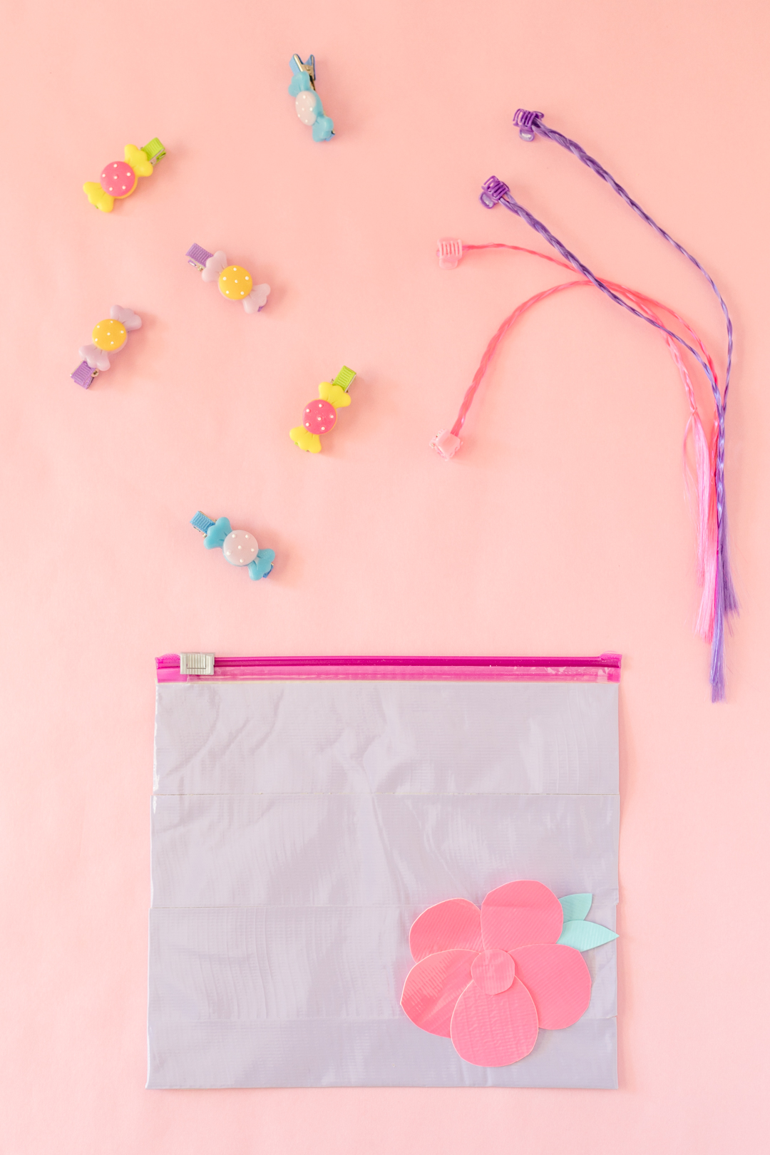 DIY Makeup Pouch / DIY Hair Accessory Bag.