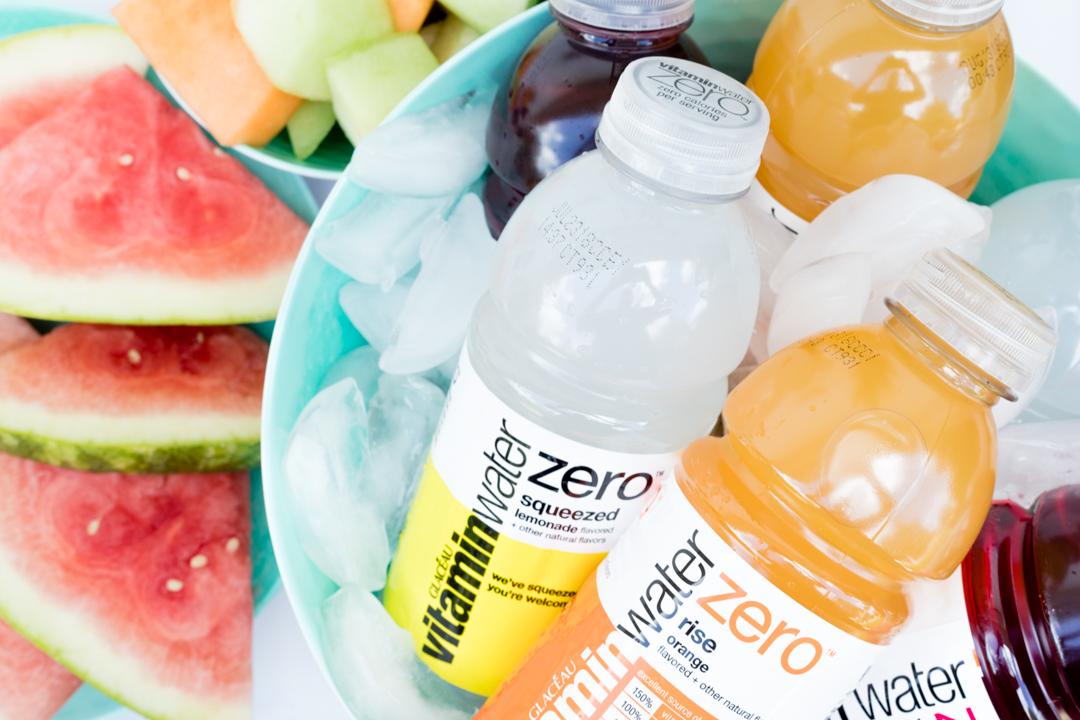 DIY Hydration Station ideas to keep refreshed for summer parties.