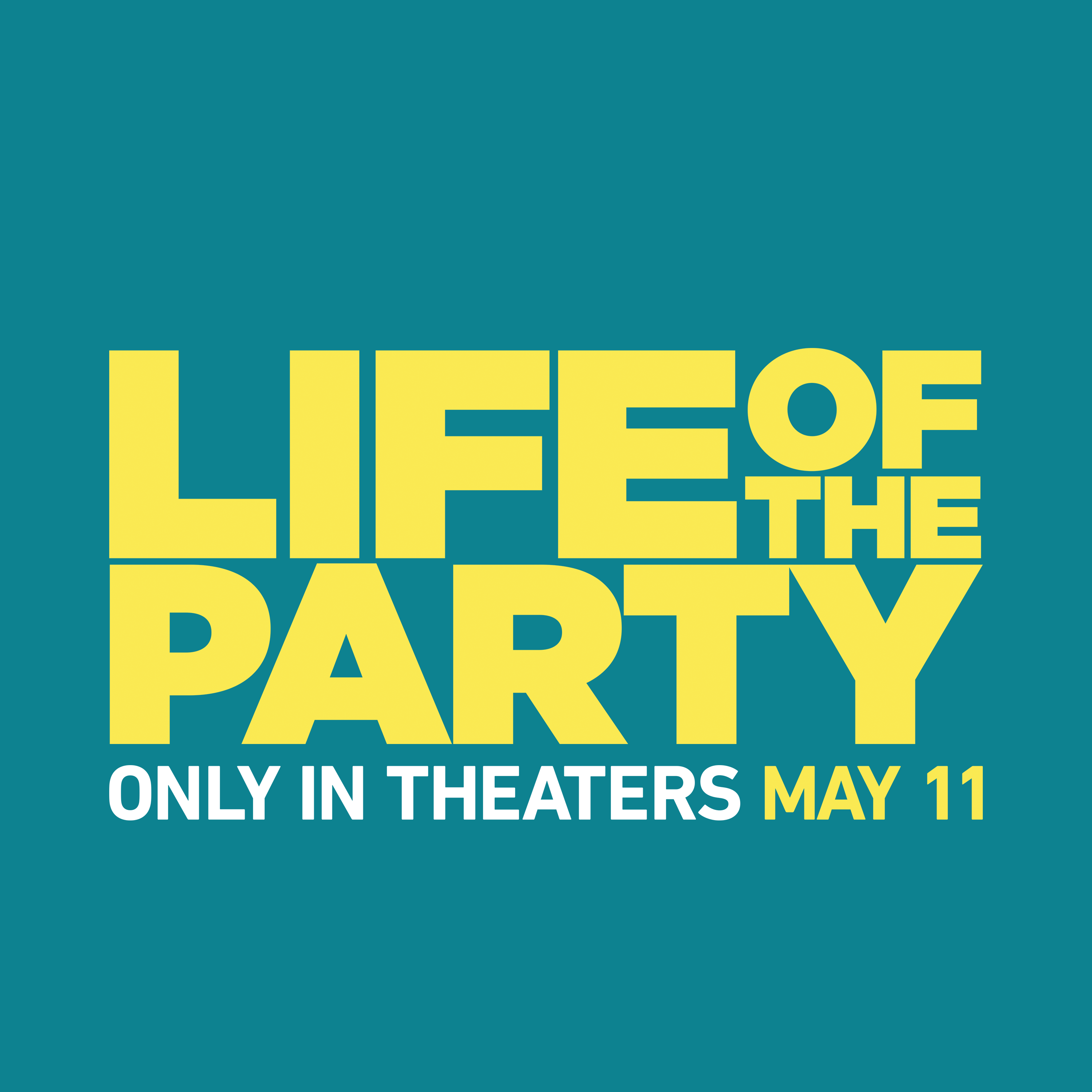 Life of The Party Cast
