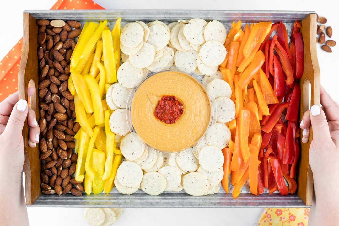Colorful Snack Tray for Summer.