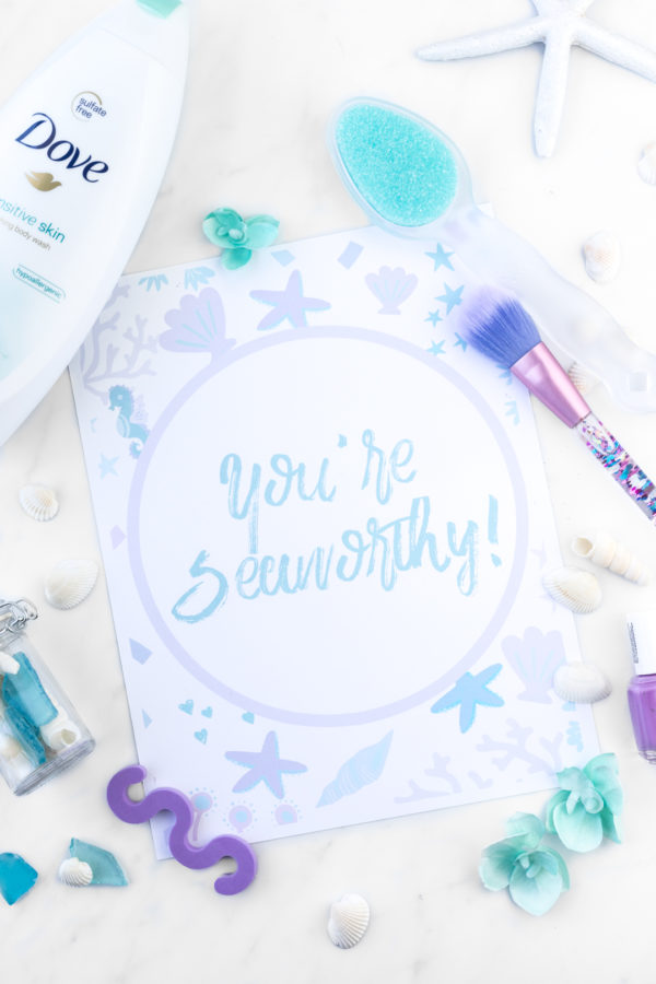 DIY Mermaid Spa Kit For Mother's Day