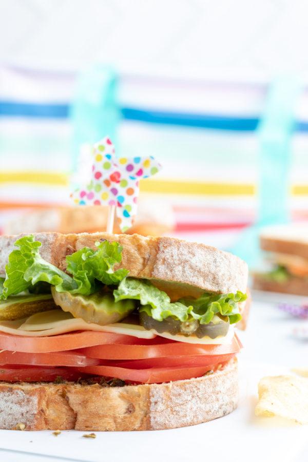 3 Picnic Perfect Veggie Sandwiches