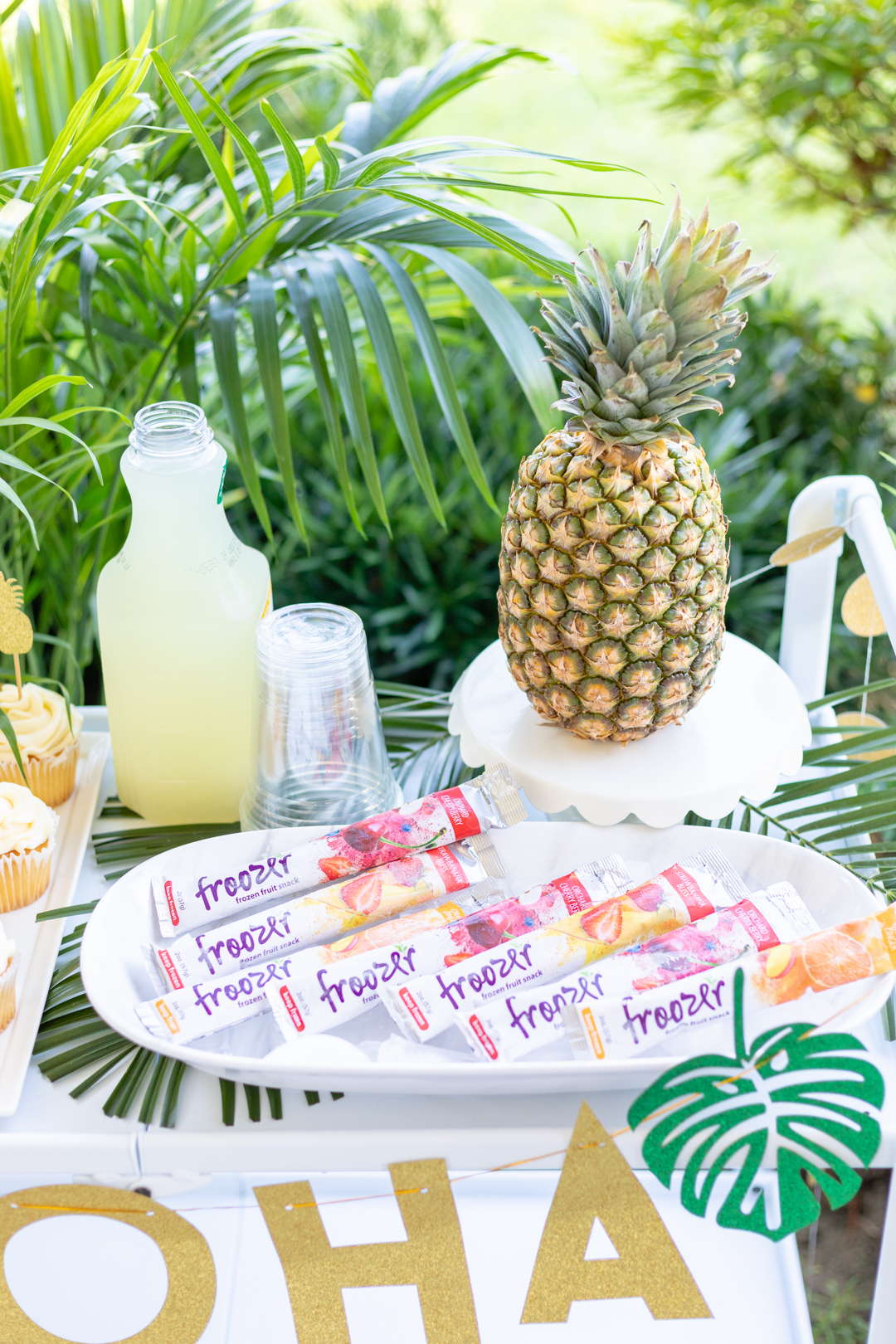 Tropical Bar Cart Ideas